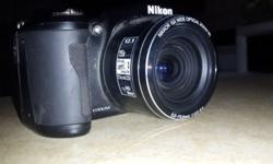 Nikon Coolpix l110 for sale. Hardly been used. Unwanted