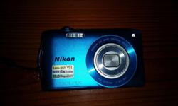 Brand new Nikon S3300 in box with a pouch,software,4gig