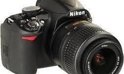 I have a brand new Nikon D3100. Thought I would have