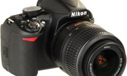 Hi,I m selling my Nikon D3100 with 55-200mm