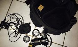 Nikon D40X (10.2 megapixels) in mint condition
