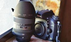Nikon D600 with 24-85mm f3.5-4.5 VR lens for sale. The