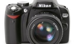 Nikon D60 key features � 10 megapixel DX format CCD