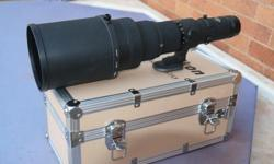 Up for sale is the legendary Nikkor 500mm f4 P ED lens.