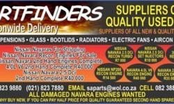 We buy and sell all parts for Nissan Navara's new and