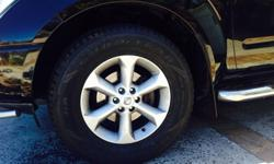 Nissan navara rims Great condition with new Goodyear