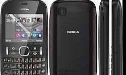 Nokia asha 201 like new for sale comes with charger