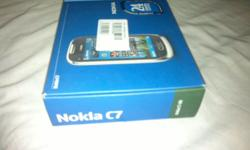 Soort: Nokia selling my nokia c7 in box.box includes