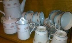 This Noritake tea set is a collectors dream. Perfectly