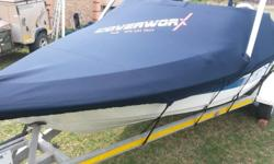 Custom made boat and Jetski covers for towing and