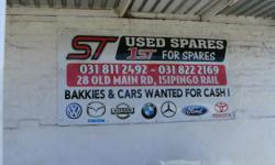 Beskrywing ST SPARES, 28 OLD MAIN ROAD, ISIPINGO RAIL -