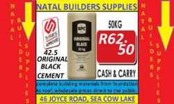 NATAL BUILDERS SUPPLIES 46 JOYCE ROAD, SEA COW LAKE.