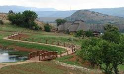 An exclusive up-market game ranch. Well developed,