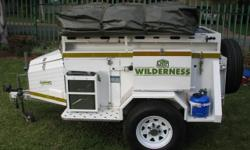 Wilderness trailer with tent and lots of extras,built
