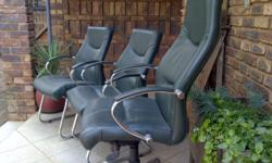 3very nice office chairs for sale still in mint