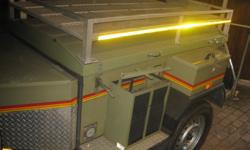 4x4 trailer very good condition.........Green,