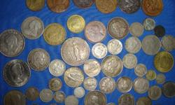 Old coins - Large selection of foreign - South African