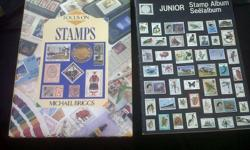Old Junior stamp album and book, Album has not been