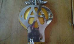 I do have a AA badge B70508 last of its kind. Mint