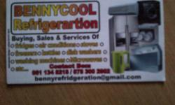 Benny Refrigeration Fridge Repairs and regassing
