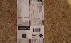 2 One Direction tickets for sale. Johannesburg, Sunday