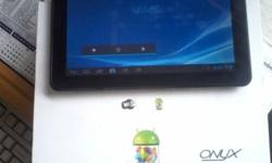 Almost new Onyx athena10 Android Tablet for sale still