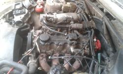 Opel 2.0 litre engine with fuel injectors rail for sale
