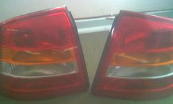 Beskrywing Opel Astra Tail Lights ? Set of 2 rear