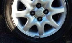 Opel corsa GSI / Astra 200is Oem rims and tyres for