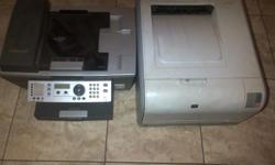 exmark copier scanner fax printer and hp printer