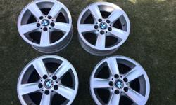 205 16 Inch Original BMW Rims for sale. Rims are hardly