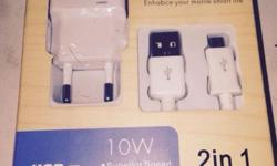 Original Samsung Galaxy Charger. Compatible with S3,
