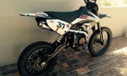 Orion 125cc Pitbike for sale, rode like 4 times,