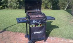Outback Gas Braai for sale As per picture No longer