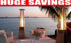 Outdoor Gas Flame Heater , Direct sales to public SA