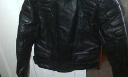 Size small padded leather jacket for sale R1500.00 For