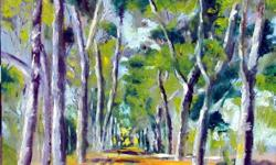 Beskrywing Road to Paternoster Original painting, oil