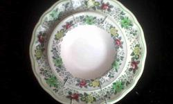 Pair of Spode - Nancy wall plates. In perfect,
