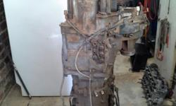 PAJERO 3.8 V6 4X4 AUTO GEARBOX AND TRANSFER CASE