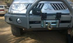 Replacement front bumper for Pajero sport new , also do