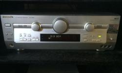Panasonic amp: Model SA-HE90 100W x 5 4 x digital