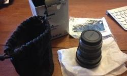 Mint like-new condition Panasonic 7-14mm F4 lens for