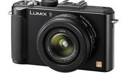 Brand new Lumix DMC-LX7, was received as a gift and not