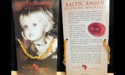 Baltic Amber Necklaces NEW, un-used. In store at Pass