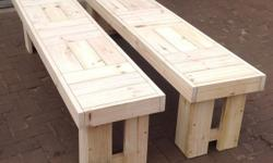 Price is per 1 bench. These benches can be used in