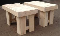 The price is per one bench and can also be used in