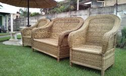 Patio Firniture1 couch and 2 chairsR2000 pmburg 084 965