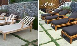 Summer is on it way, get your patio furniture looking