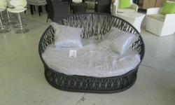 Patio Lounge Set Black R2500.00 BIG SALE ON SATURDAY