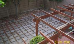 Second-hand paving slabs for sale. R10 per slab if you